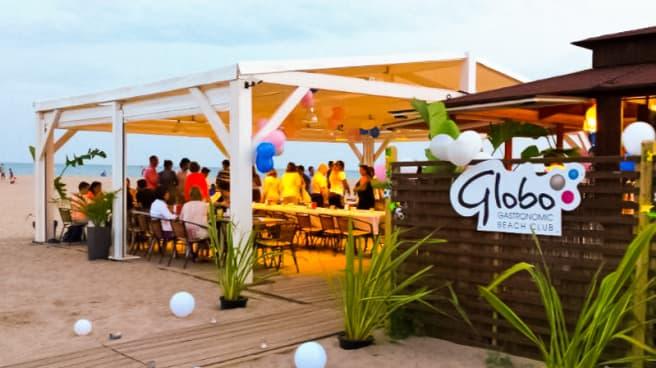 Vista terraza - Globo Gastronòmic Beach Club, Castelldefels