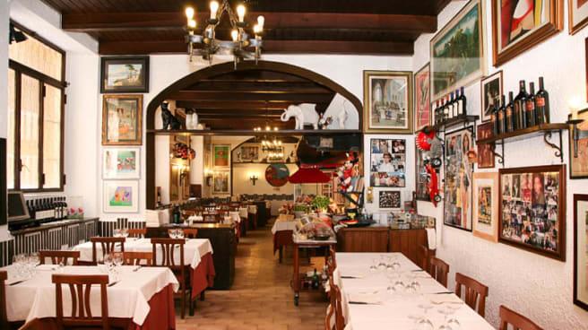 sala - Osteria La Carbonella, Milano