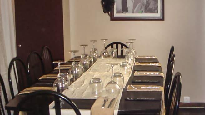 Une grande table - Izard Café Central, Saint-Lary-Soulan