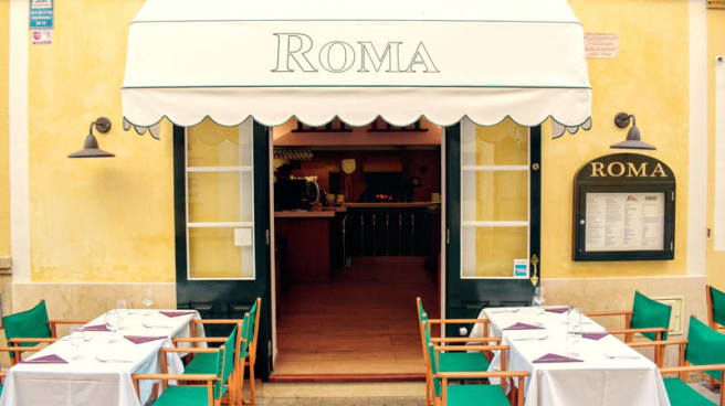 Terraza - Pizzeria Roma, Ciutadella de Menorca