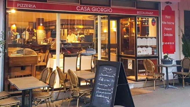 Terrasse - Casa Giorgio, Paris