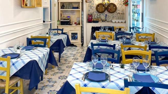 Sala - Trattoria Scialapopolo, Napoli