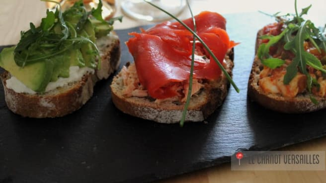 tartines - Le Carnot, Versailles