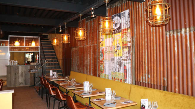 Salle du restaurant - Mian Fan Grand Boulevard, Paris