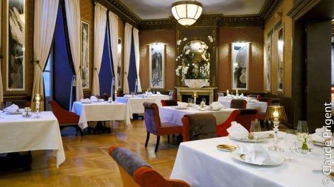 Salle du restaurant - Le Pressoir d'Argent - Gordon Ramsay, Bordeaux