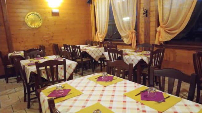 Vista sala - Trattoria del Viaggiatore, Avezzano