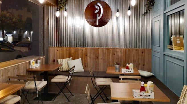 Vista de la sala - La Pepita Burger Bar Palma, Palma de Mallorca