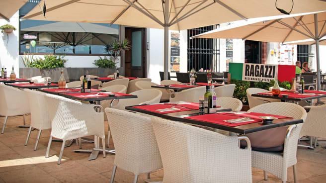 vista terraza - Ragazzi, Sitges