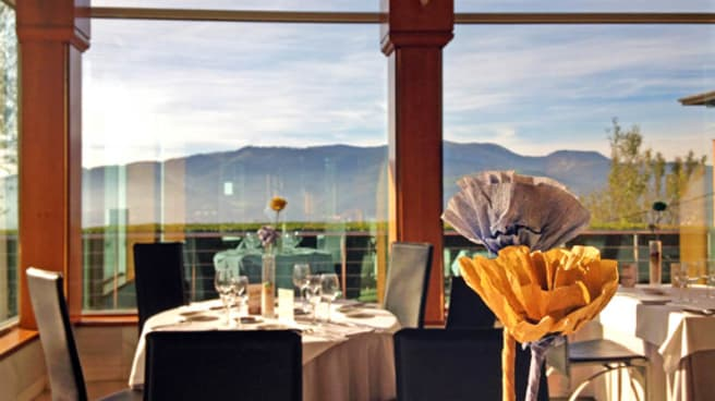 Vista sala - Restaurante La Escuela · Escuela Superior de Hostelería Bilbao, Bilbo
