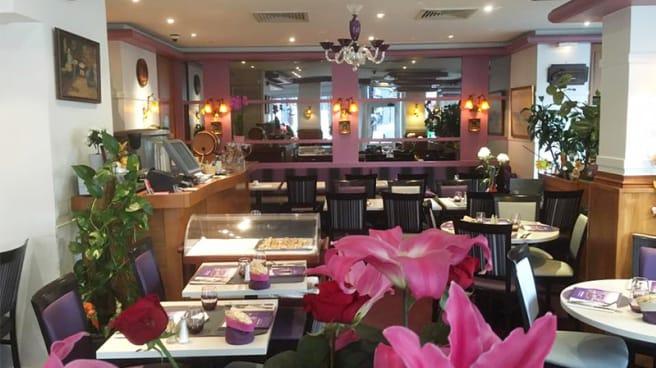 Salle du restaurant - Le Mont Liban, Paris