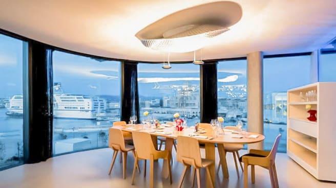 Vue salle - Le Môle Passedat - La Table, Marseille