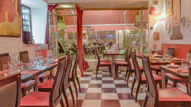 Vue de la salle - Chez Pino, Paris
