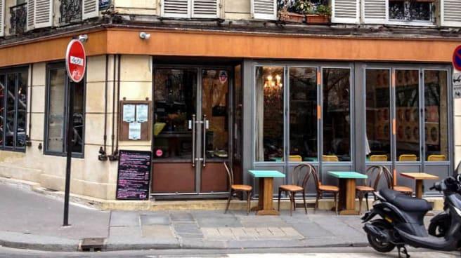 Devanture - Le Bébé, Paris