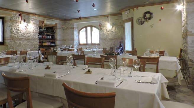 Vista sala - Ristorante Marano di Pescofalcone