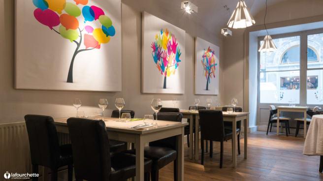 Salle du restaurant - Carré Royal, Lyon