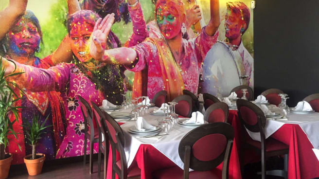 Sala del restaurante - Palki, Madrid