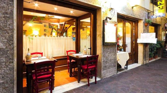 Entrata Ristorante - La Galleria Il Vino dei Guelfi cucina tipica fiorentina, Firenze