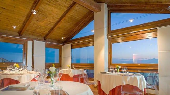 La sala panoramica - La Taverna di Fra' Fiusch