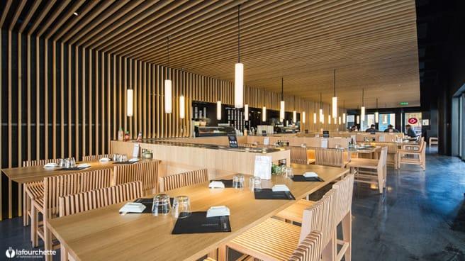 Salle du restaurant - Matsuri Bordeaux, Bordeaux