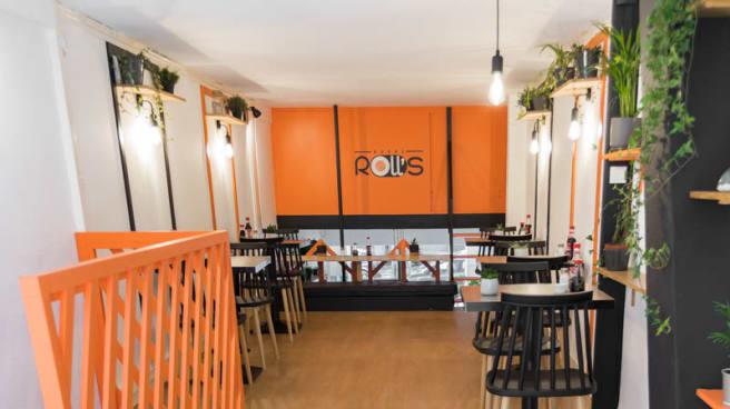 Vue de la salle - Sushi Roll's, Lyon