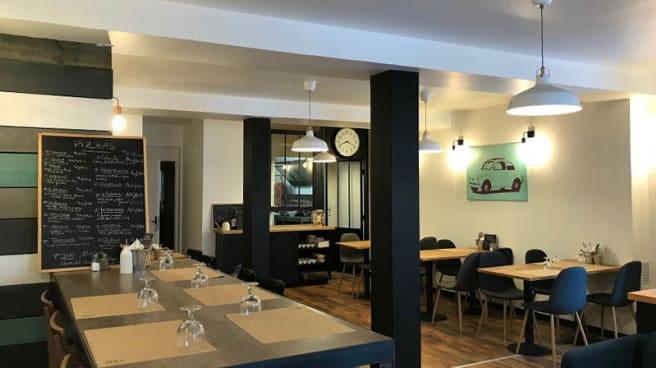 Vue de la salle - L'Atelier du Pizzaiolo, Bordeaux