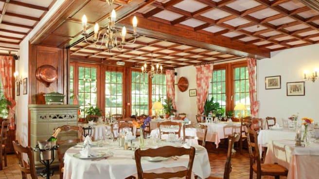 Salle du restaurant - Restaurant du Château d'Andlau, Andlau