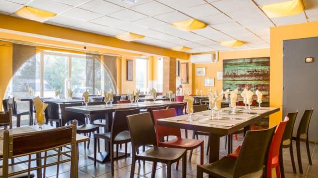 Salle du restaurant - Bella Napoli, Montpellier