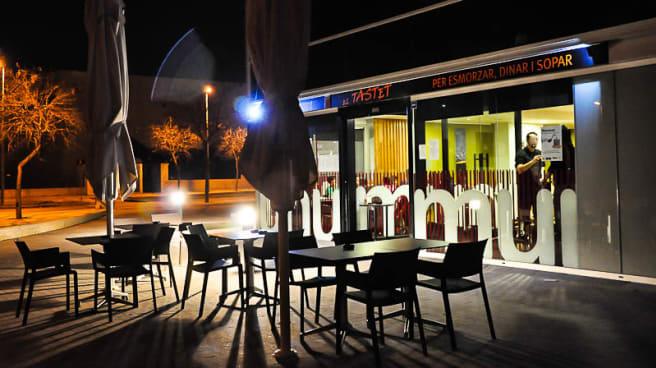 Vista terraza - El Tastet