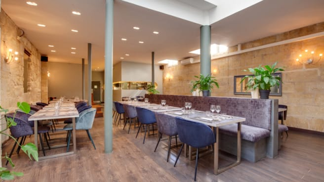 Vue de la salle - Restaurant Le M, Bordeaux