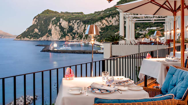 Terrazza - JKitchen Restaurant Capri, Capri