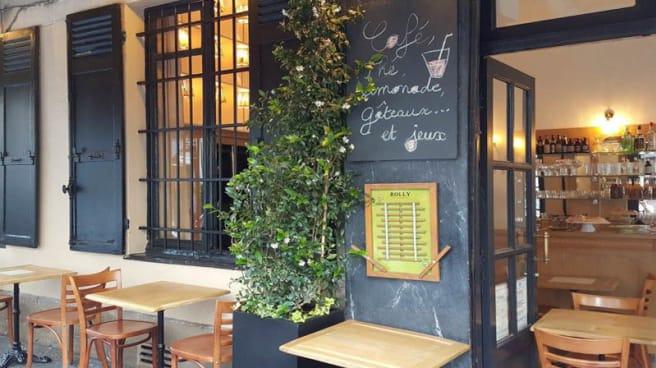 Terrasse - L'Estaminet, Paris