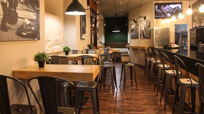 Sala del restaurante - Central, Utrera