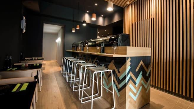 Vue bar - Coté Sushi, Suresnes