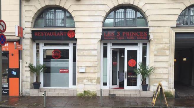 Façade du restaurant - Les 3 Princes, Sèvres
