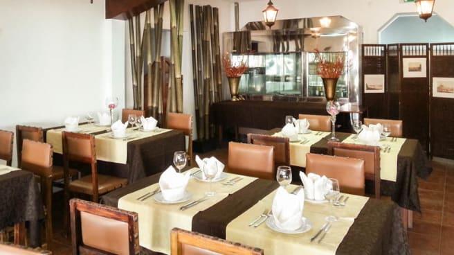 sala do restaurante - Viktor & Vitória, Alcabideche