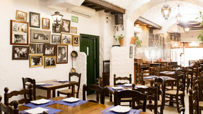 Vista sala - Taberna El Mentidero, Málaga