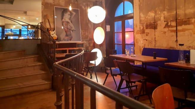 La mezzanine - Le Beaumarchais, Paris