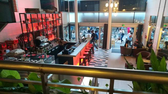 Salle du restaurant - Upper Side, Lyon