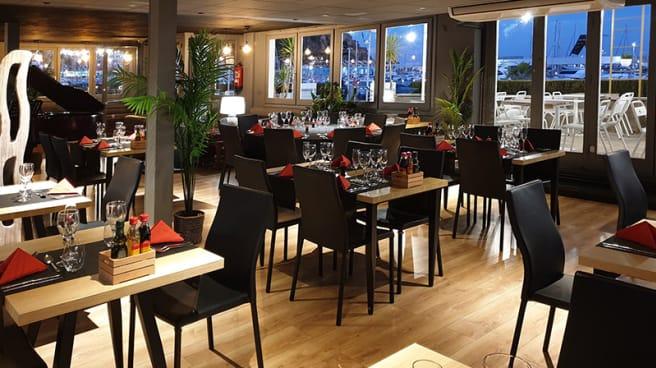 Sala - Restaurant & Lounge Club Vela Blanes, Blanes