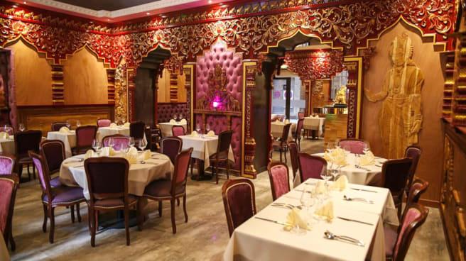 Salle du restaurant - Le Taj Indien Lyon, Lyon