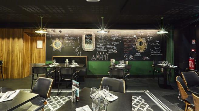 Salle du restaurant - Le Kernic Bistrot - Casino Partouche Plouescat, Plouescat