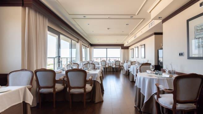 Vista Sala - Al-Zagal restaurante panorámico - Hotel Sevilla Center, Sevilla