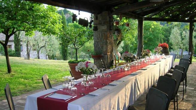 Tavolo esterno - La Chiusetta Agriturismo, Orvieto
