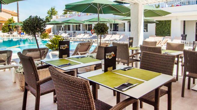 Vista terraza - Filigrana Del Mar - Hotel Catalonia del Mar