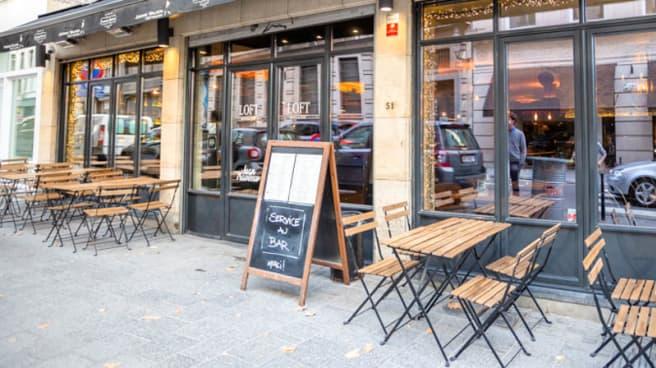 Façade - Le Loft Brussels, Bruxelles