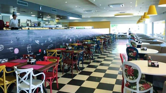 Espaço interno do restaurante - Clock Restaurante e Pizzaria, Recife