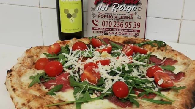 Pizza - Pizzeria del Borgo, Genova