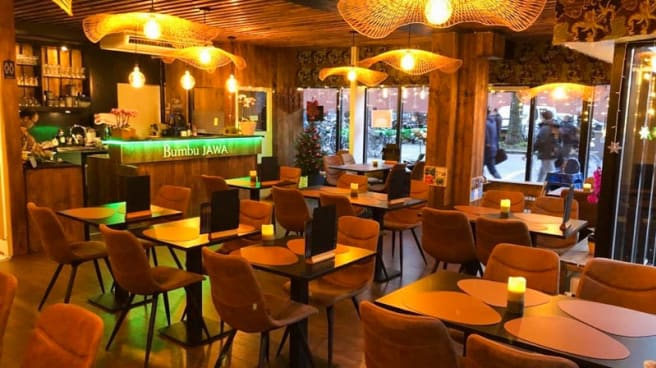 Het restaurant - Bumbu Jawa, Den Haag