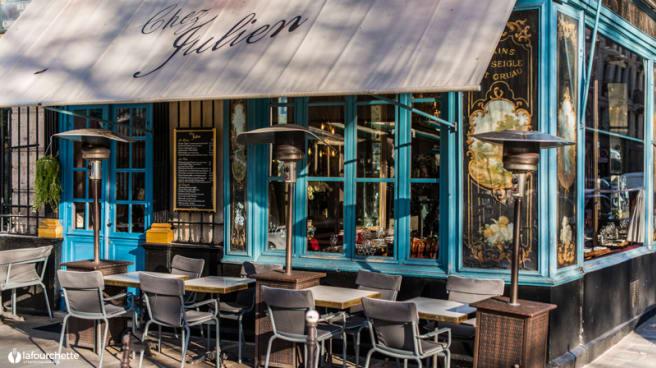 Terrasse - Chez Julien, Paris