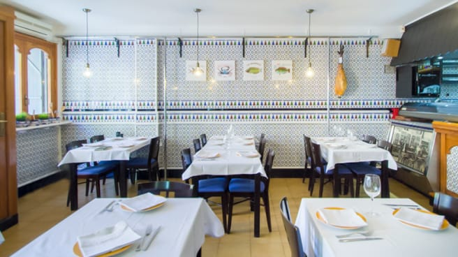 Vista sala - Taberna Los Olivares, Barcelona